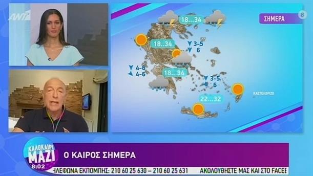 ΚΑΙΡΟΣ – ΚΑΛΟΚΑΙΡΙ ΜΑΖΙ - 20/08/2020