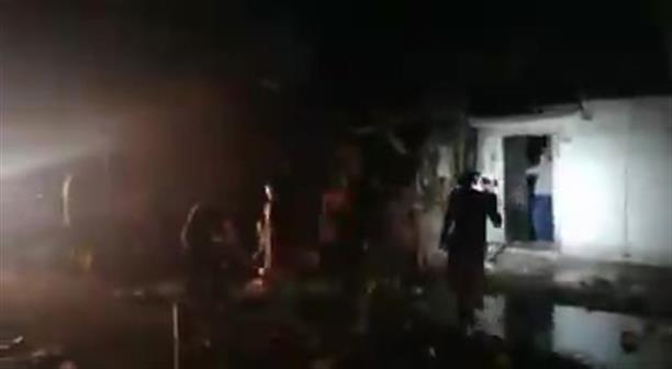 Βομβαρδισμένο σπίτι στη Συρία