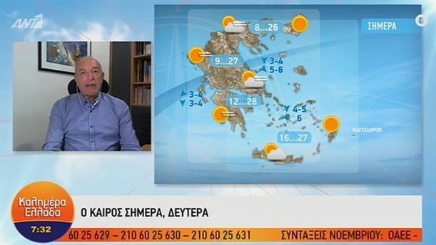 ΚΑΙΡΟΣ – ΚΑΛΗΜΕΡΑ ΕΛΛΑΔΑ - 21/10/2019