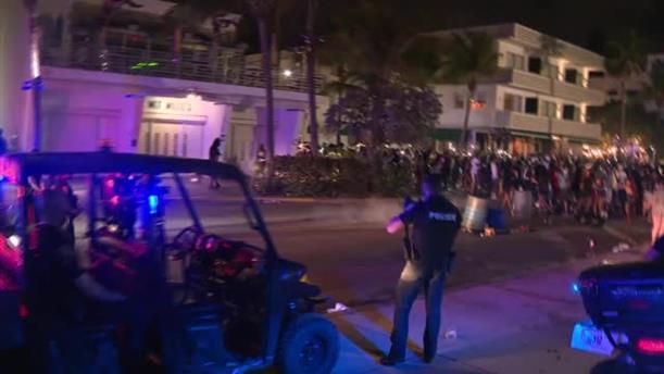 Επεισόδια μετά την απογόρευση κυκλοφορίας στο Μαϊάμι