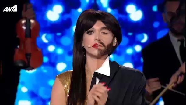 Your Face Sounds Familiar All Star - Τάνια Μπρεάζου - Ημιτελικός