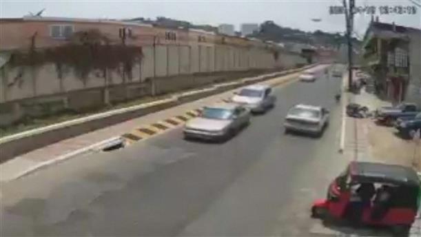 Πήδηξε από κινούμενο όχημα για να γλιτώσει από ληστές