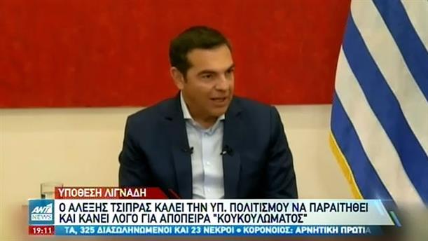 """Λιγνάδης: """"Μετωπική σύγκρουση"""" Κυβέρνησης-ΣΥΡΙΖΑ"""