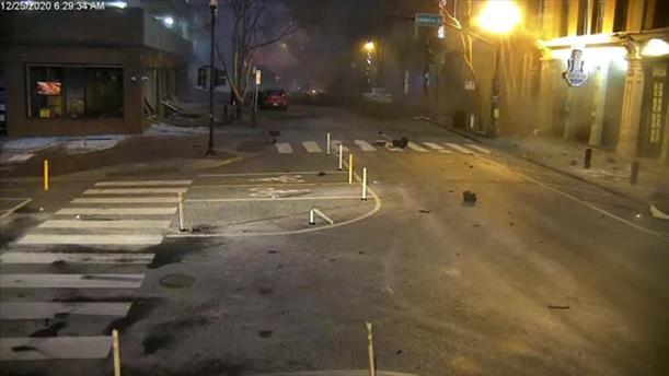Η στιγμή της έκρηξης στο Νάσβιλ