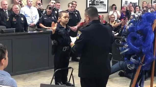 Η 6χρονη που έγινε αστυνομικός
