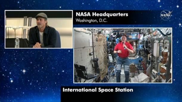 Η ερώτηση του Μπραντ Πιτ σε αστροναύτη για τον Κλούνεϊ