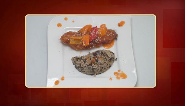 Κοτόπουλο με γλυκόξινη σάλτσα και ρύζι της Μαρίας - Κυρίως πιάτο - Επεισόδιο 50