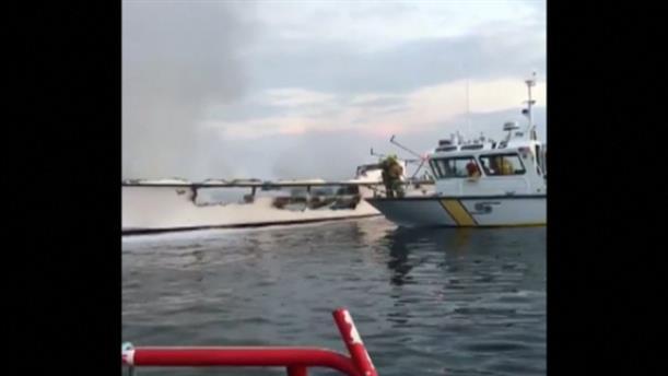 Δεκάδες νεκροί από φωτιά σε πλοίο στην Καλιφόρνια