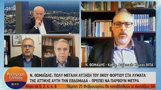 N. Θωμαϊδης - Καθ. Αναλ Χημείας ΕΚΠΑ – ΚΑΛΗΜΕΡΑ ΕΛΛΑΔΑ – 04/02/2021