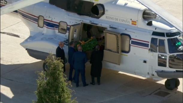 Μαδρίτη: Μεταφορά με ελικόπτερο των οστών του Φράνκο σε κοιμητήριο