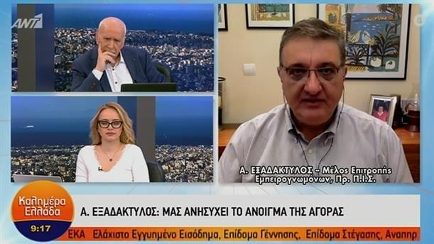 Αθανάσιος Εξαδάκτυλος - Πρόεδρος Πανελλήνιου Ιατρικού Συλλόγου – ΚΑΛΗΜΕΡΑ ΕΛΛΑΔΑ - 20/01/2021