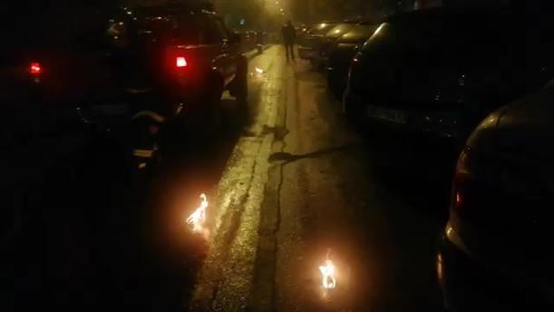 Αντιεξουσιαστές πέταξαν μολότοφ μετά την πορεία στη Θεσσαλονίκη