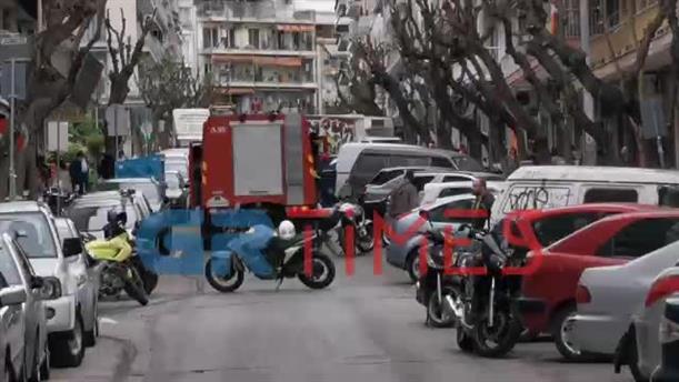 Έκρηξη σε διαμέρισμα στο κέντρο της Θεσσαλονίκης