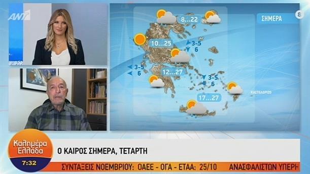 ΚΑΙΡΟΣ – ΚΑΛΗΜΕΡΑ ΕΛΛΑΔΑ - 09/10/2019