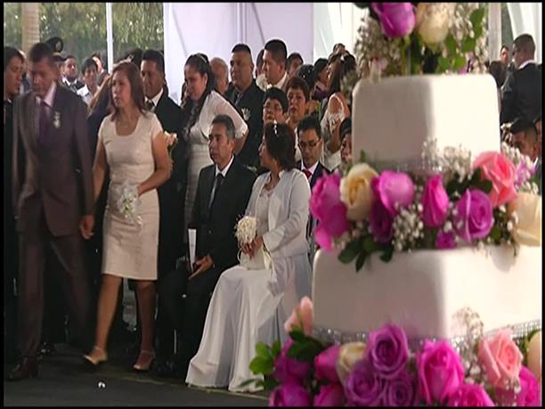 Μαζικός γάμος στο Περού