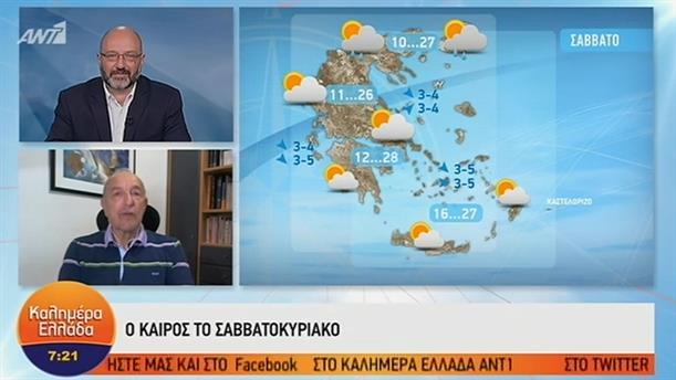 ΚΑΙΡΟΣ – ΚΑΛΗΜΕΡΑ ΕΛΛΑΔΑ - 24/05/2019