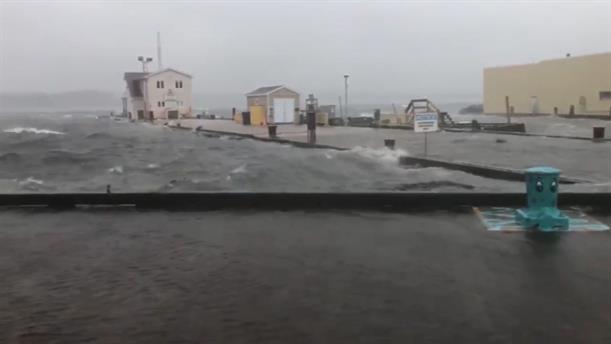 Καταστροφές από τον κυκλώνα Ντόριαν στον Καναδά