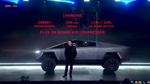 """""""Φιάσκο"""" με τα θωρακισμένα παράθυρα του νέου ηλεκτρικού οχήματος της Tesla"""