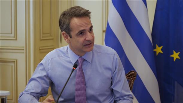 Τηλεδιάσκεψη του Κυριάκου Μητσοτάκη με Υπουργούς για την αξιοποίηση κοινοτικών πόρων