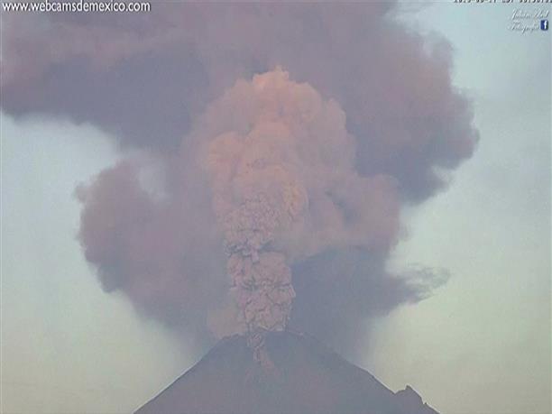 Έκρηξη ηφαιστείου στο Μεξικό