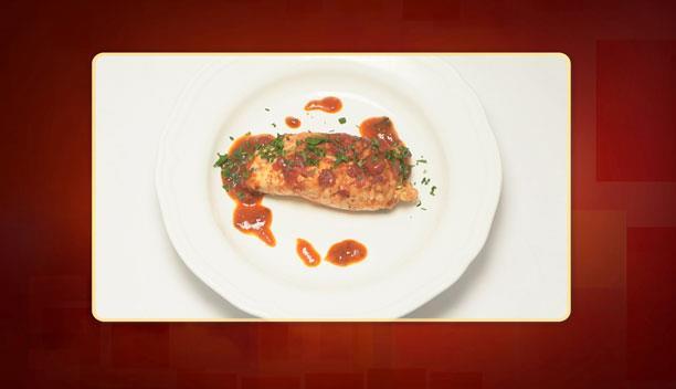 Ρολάκια κοτόπουλου με φέτα και λιαστή ντομάτα της Διονυσίας - Κυρίως πιάτο - Επεισόδιο 59