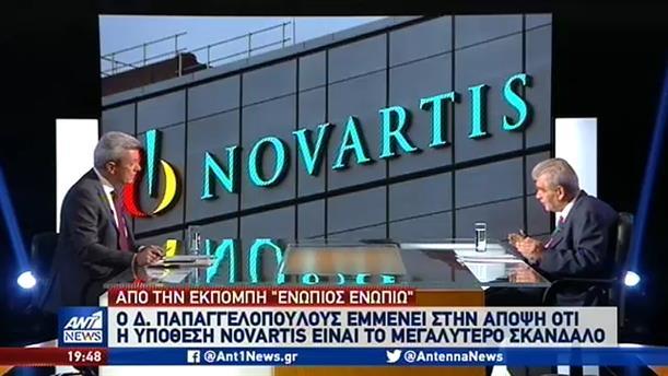 Novartis: Για εκδικητική μανία εναντίον του κάνει λόγο ο Παπαγγελόπουλος