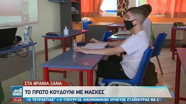 Παραδόθηκαν μάσκες σε όλα τα σχολεία της χώρας