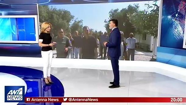 Σε Μόρια και Καρά Τεπέ ο Μιχάλης Χρυσοχοΐδης