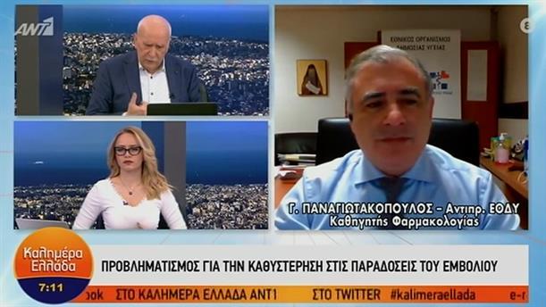 Γιώργος Παναγιωτακόπουλος - αντιπρόεδρος ΕΟΔΥ – ΚΑΛΗΜΕΡΑ ΕΛΛΑΔΑ - 20/01/2021