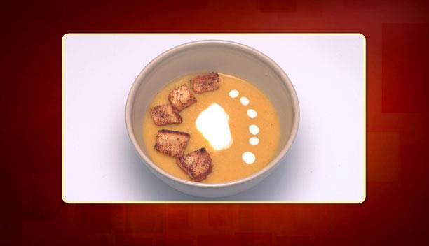 Σούπα κολοκύθας της Δανάης - Ορεκτικό - Επεισόδιο 34