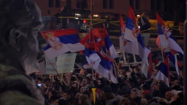 Διογκώνονται οι αντικυβερνητικές διαδηλώσεις στο Βελιγράδι