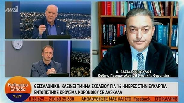 Θεόδωρος Βασιλακόπουλος – ΚΑΛΗΜΕΡΑ ΕΛΛΑΔΑ - 13/01/2021