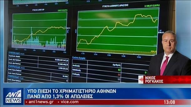 «Στο κόκκινο» και η σημερινή συνεδρίαση του Χρηματιστηρίου Αθηνών