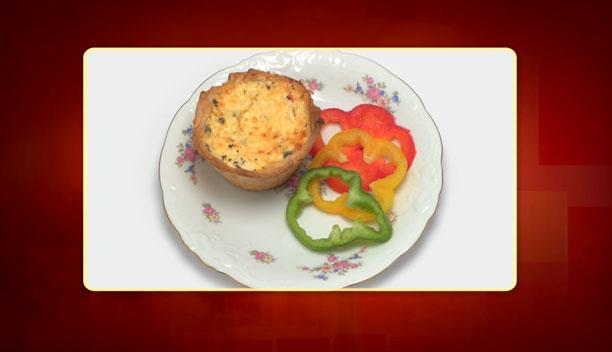 Κις λορέν με τυριά, αλλαντικά και άρωμα βασιλικού της Δήμητρας - Ορεκτικό - Επεισόδιο 96