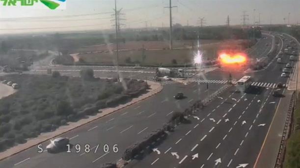 Έκρηξη σε αυτοκινητόδρομο στο Ισραήλ