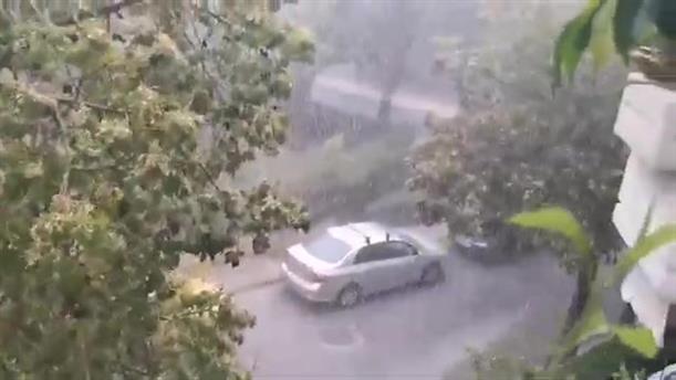Καταιγίδα στο Παλαιό Φάληρο