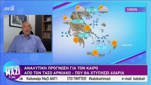 Καιρός - ΚΑΛΟΚΑΙΡΙ ΜΑΖΙ - 29/07/2019