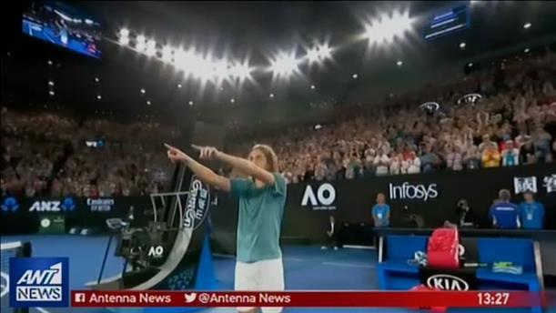 Παγκόσμιος θαυμασμός για τον Τσιτσιπά μετά την νίκη επί του Φέντερερ