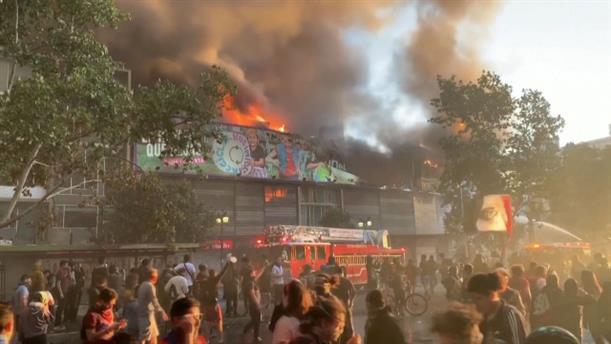 Αδιάκοπες οι διαδηλώσεις στη Χιλή