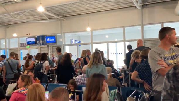 Βίντεο από το Αεροδρόμιο, λίγο μετά το σεισμό