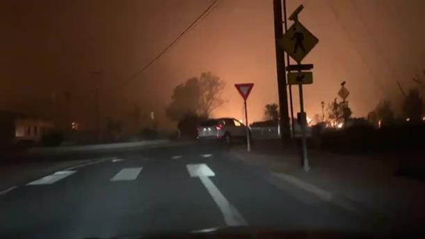 Φωτιές στο Όρεγκον στις ΗΠΑ