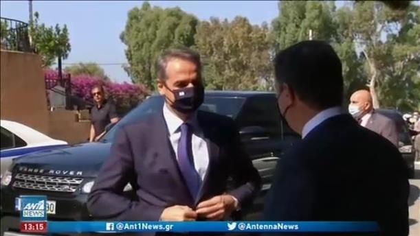 Την έναρξη της Ευρωμεσογειακής Διάσκεψης στο Καβούρι, κήρυξε ο πρωθυπουργός