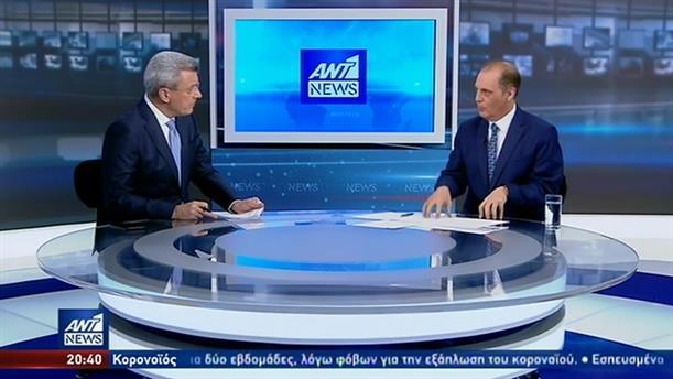 Ο Κυριάκος Βελόπουλος στον ΑΝΤ1 για την εκπομπή με το «σκεύασμα» για τον κορονοϊό