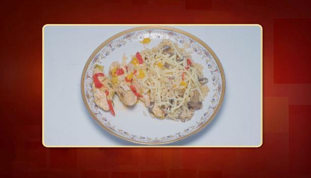 Φιλέτο κοτόπουλο με μαστίχα της Κωνσταντίνας- Κυρίως πιάτο - Επεισόδιο 46