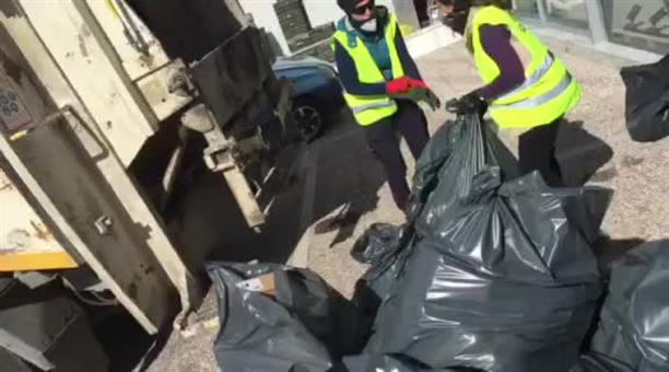 Καταστροφή κατασχεμένων σε ελέγχους για παρεμπόριο στην Κοζάνη