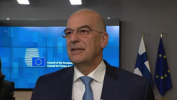Δήλωση Νίκου Δένδια στο Συμβούλιο Υπουργών Εξωτερικών της ΕΕ
