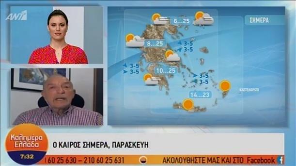 ΚΑΙΡΟΣ – ΚΑΛΗΜΕΡΑ ΕΛΛΑΔΑ - 03/05/2019