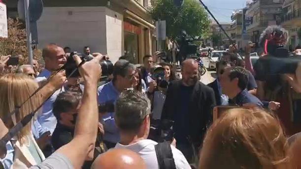 Στον Εύοσμο Θεσσαλονίκης ο Αλέξης Τσίπρας