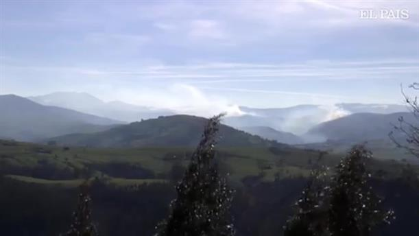 Μεγάλες φωτιές στην Ισπανία