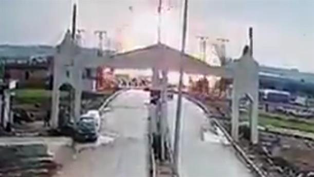 Έκρηξη βόμβας στα σύνορα Τουρκίας-Συρίας